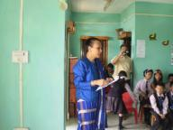 MADAM BANUO Z. JAMIR VISIT TO THE SCHOOL