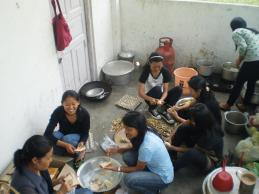 COOKING / PREPARATION FOR FOOD