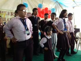 ACTION SONG BY CWSN STUDENTS
