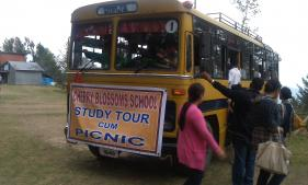 BUS SERVICE PROVIDED BY THE ASSAM RIFLES