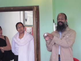 PAWAN KUMAR FROM HYDERABAD VISIT THE SCHOOL- SHOW HIS SPECIAL WATCH