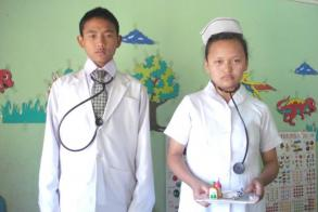 DOCTOR AND HIS NURSE