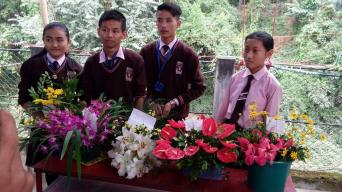 WINNERS OF FLOWER COMPETITIONS