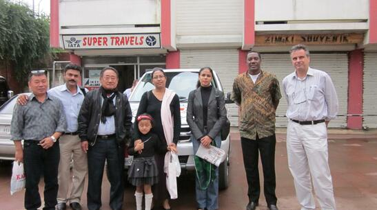 OFFICIALS FROM ICRC GENEVA VISITS