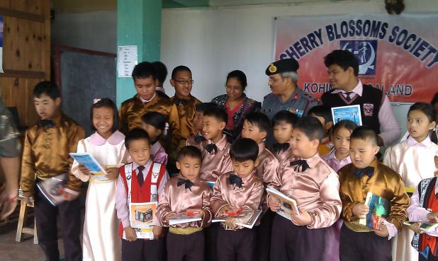 STUDENTS HAPPY WITH THE GIFTS